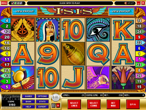 Isis slot game