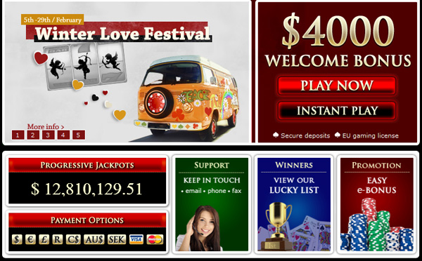 Noble Casino - Progressive Jackpots