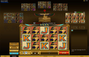 Multiplayer Isis slot game