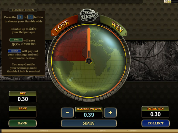 The new Microgaming Gamble Game