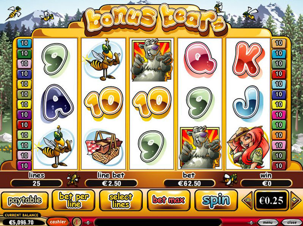 Bear themed Slot Games online