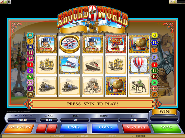 Microgaming Online Slots from around the World