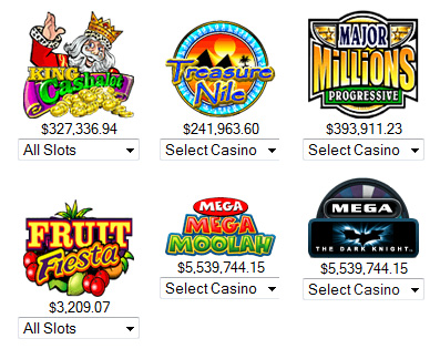 Progressive Jackpot Casino Games
