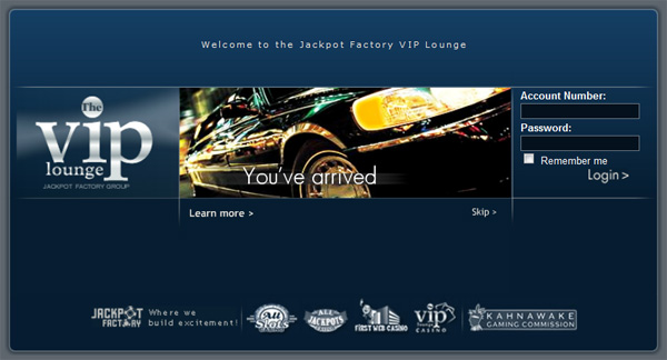 VIP-Lounge from All Slots Casino