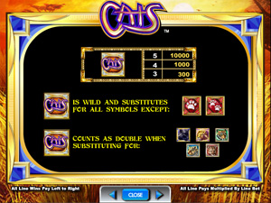Cats - Slots from IGT