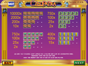 Cleopatra - Slots from IGT