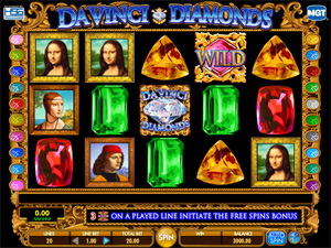 Da Vinci Diamonds - IGT Slot