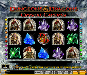 Dungeons & Dragons - Chrystal-Caverns