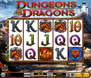 Dungeons and Dragons Slots from IGT