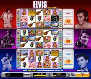 Elvis Multi Strike - Slots from IGT