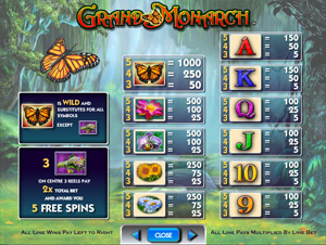 Grand Monarch from IGT