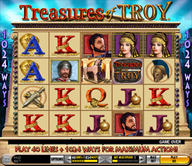 IGT - Treasures of Troy