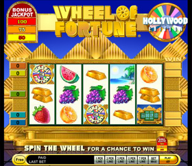 IGT - Wheel of Fortune - Hollywood Edition