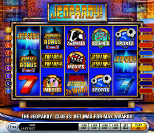Jeopardy Slots