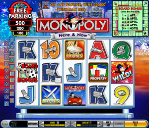 Monopoly - Here and Now Slots