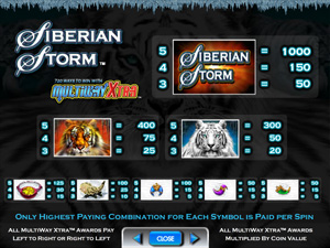Siberian Storm from IGT