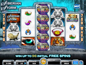 Siberian Storm - slots from IGT
