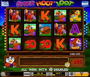 Super Hoot Loot - slots from IGT