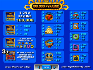 The 100000 Pyramid - slots from IGT